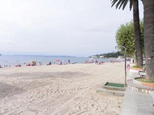 пляж в Гольф-Жуане