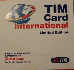 Мобильная связь в Италии представлена несколькми операторами ТIM  Wind  Vodafone Tre.it.