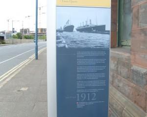 Место постройки Титаника