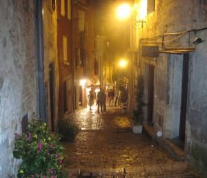 улочки Ровиня