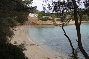 пляж на Сардинии