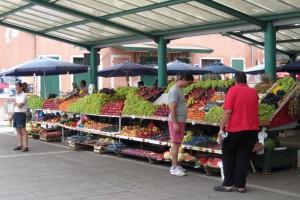 рынок в Ровине