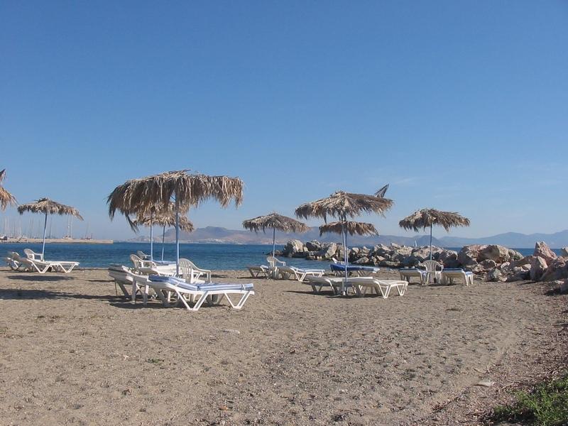 пляж на Косе