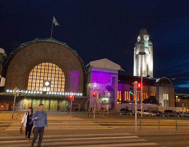 Хельсинки ж/д вокзал