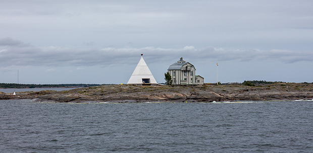 Выходим из Финских островов