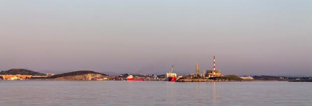 подходы к нефтяной столице Норвегии Ставангеру