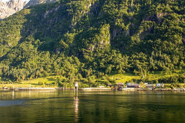Зелёные берега Норвегии