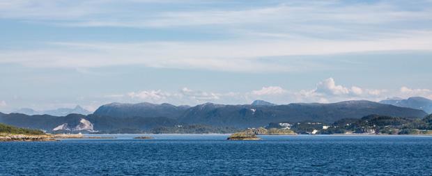 Горы и острова Норвегии