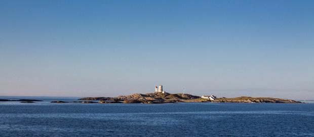Скальные островки Норвегии.