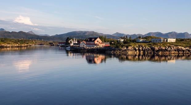 Остров Аверой Норвегия