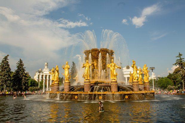 фонтан на ВДНХ