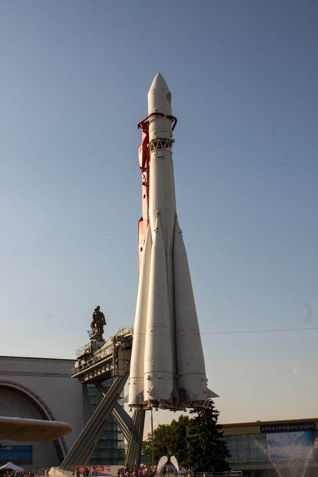 ракета на ВДНХ