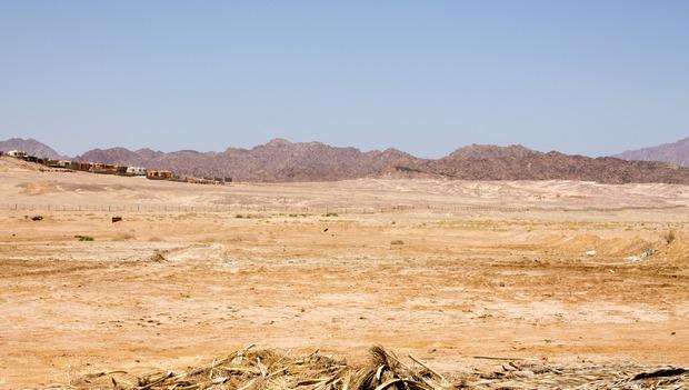 пустыня в Шарм-аль-Шейхе