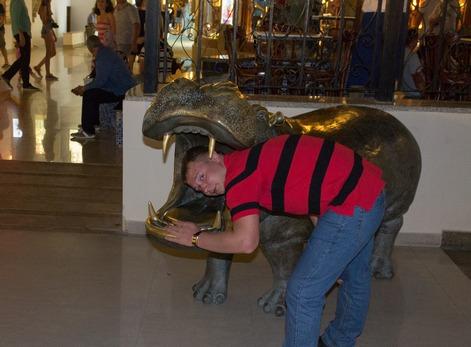 пасть бегемота