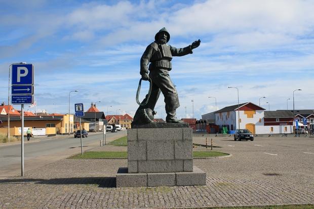 памятник в Скагене