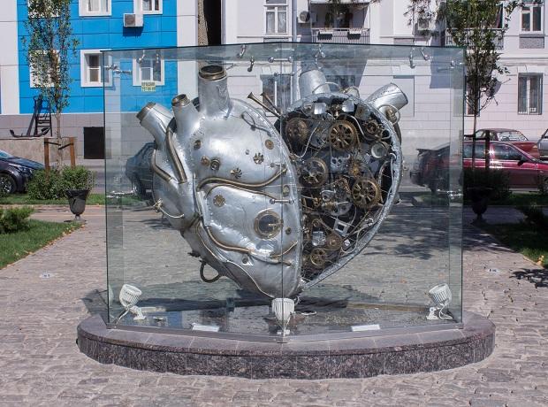 Механическое сердце Ростова )))