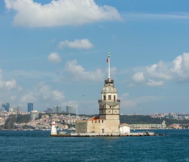 Девичья башня (Kiz Kulesi)