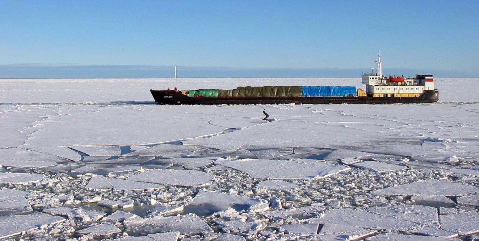 Зима в Рижском заливе