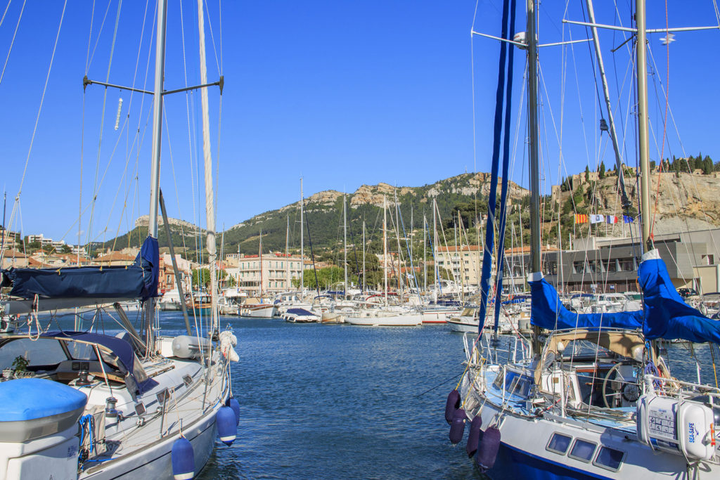 Yachts in Cassis